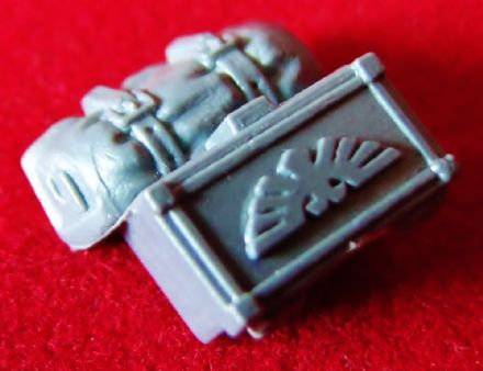 Space Marine Motorbike Bike Box aquila symbol